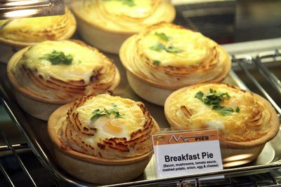The Breakfast Pie at Mountain High Pies