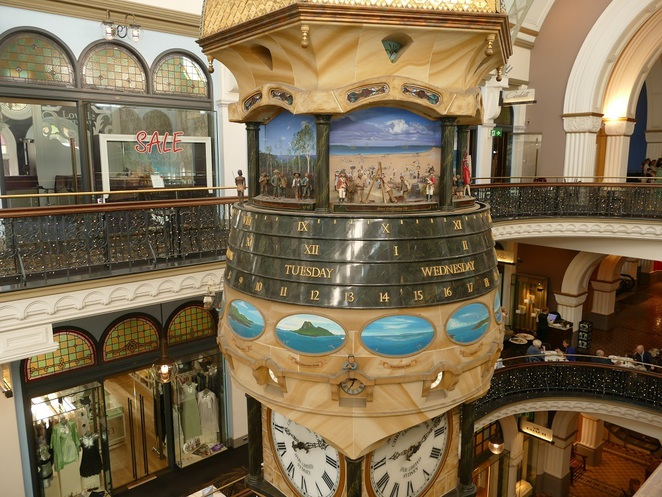 The Great Australian Clock, QVB