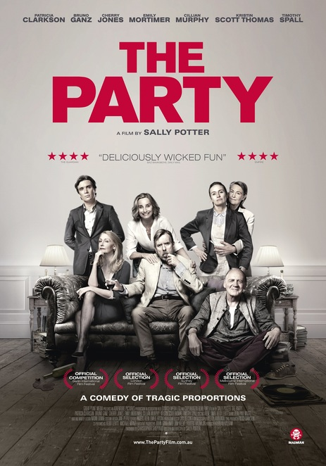 The Party, The Party film review, The Party movie review, The Party film, The Party movie, British movies, Film reviews, Movie reviews, Coming Attractions, New Releases