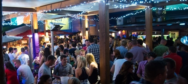 the shed, outdoor, party, new years eve