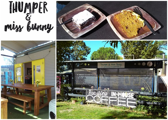thumper and miss bunny, canberra, gold creek village, nicholls, coffee roasters, morning tea, lunch, tea, best coffee shop,
