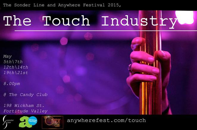 Touch, Touch Industry, Anywhere festival, theatre, drama, performance