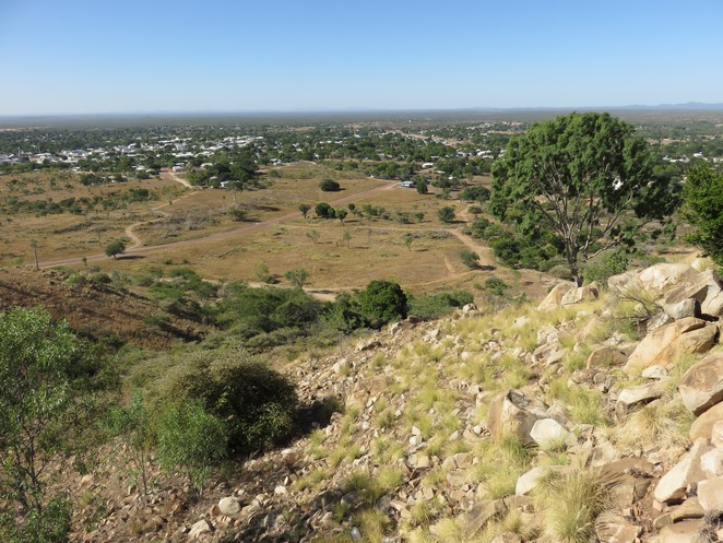 towers hill lookout, charters towers, things to see in north queensland, towers hill,