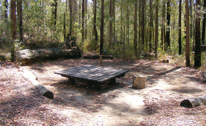 The Ubajee Walkers Camp is popular with Sunshine Coast HInterland Great Walkers