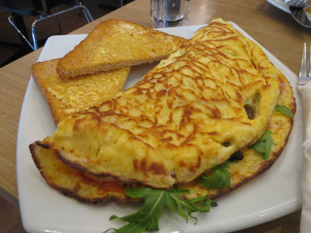 Uncle Albert's Cafe, Albert's Omelette, Adelaide