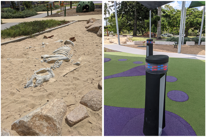 Interactive games and exploration at UQ Educational Playground