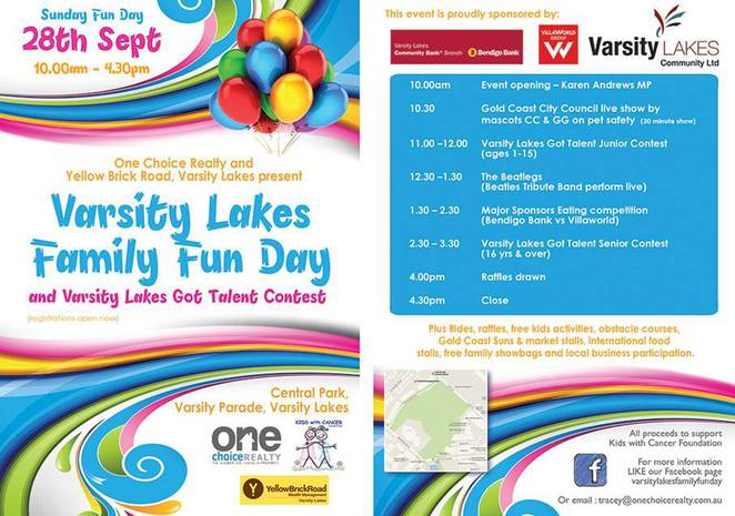 Varsity Lakes family fun day