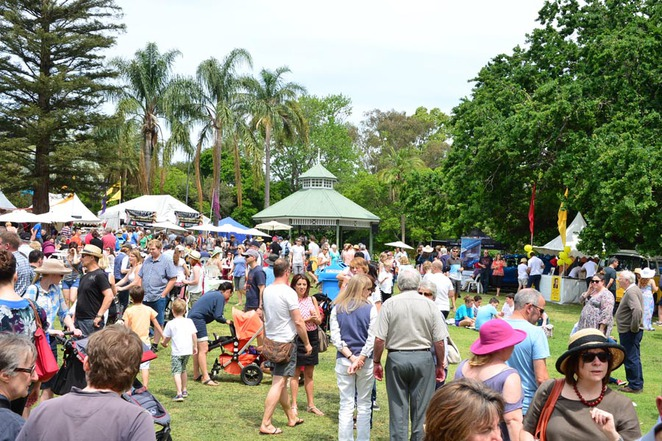 wahroonga food and wine festival 2014