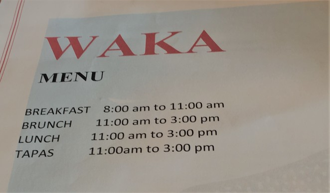 Waka cafe restaurant
