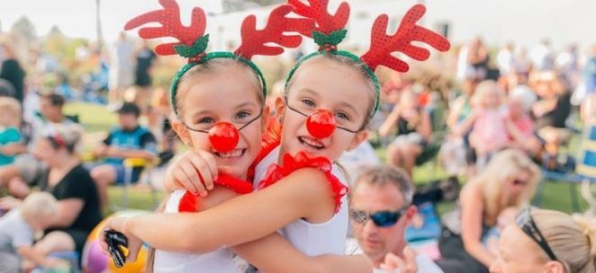 A Luminous Christmas, Carols in the Park,The Entrance, Central Coast