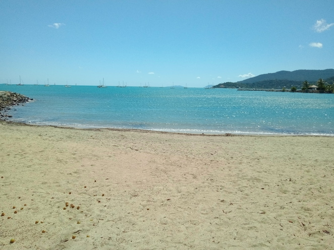 Airlie Beach, QLD courtesy of author 2021.