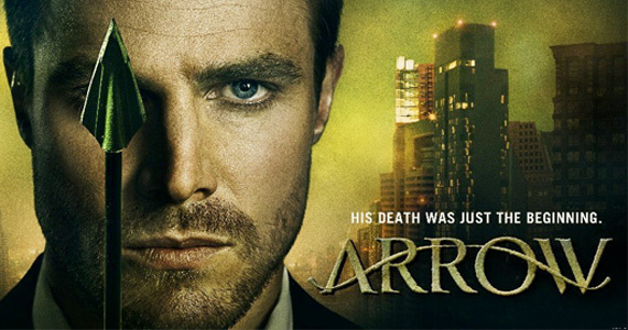 anyone watching the tv show arrow based on the dc comics hero
