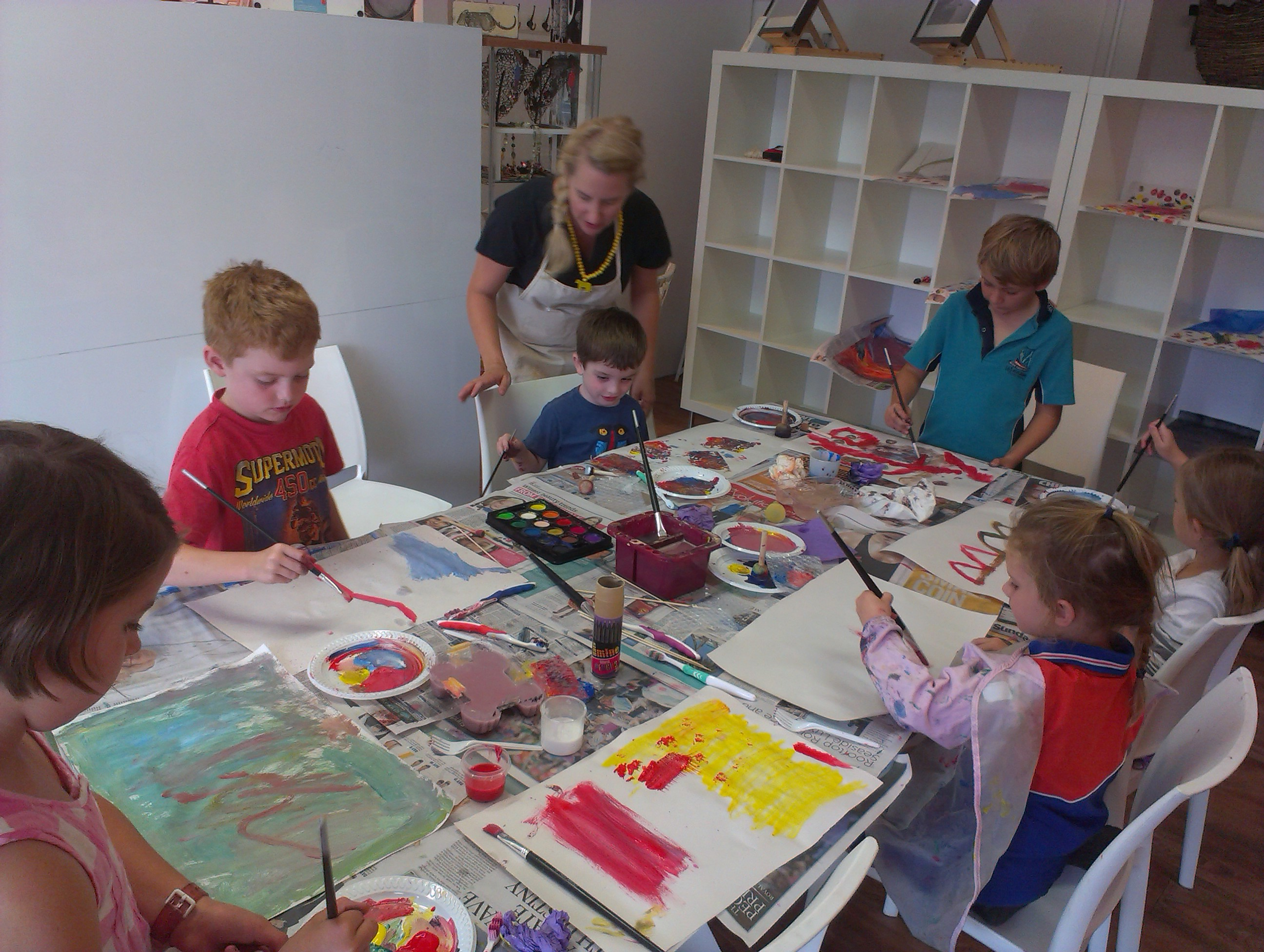 Art workshops for kids the collective store brisbane for Craft classes for toddlers