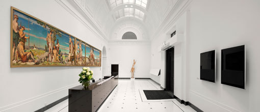 Art Gallery of South Australia, North Terrace entrance.
