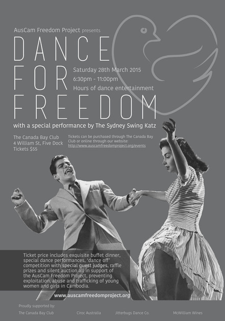 AusCam, Cambodia, Freedom Project, Dance for Freedom, donation, anti-violence, support, women, girls