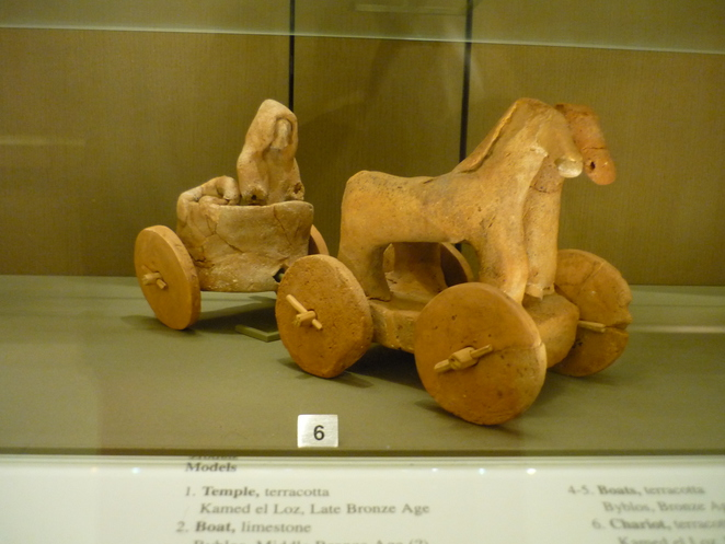 beirut, lebanon, archaeological museum, chariot