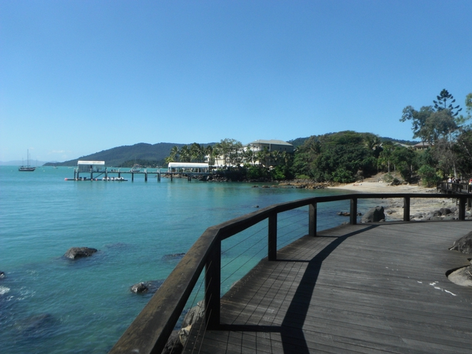 Boardwalk, Airlie Beach, Whitsundays