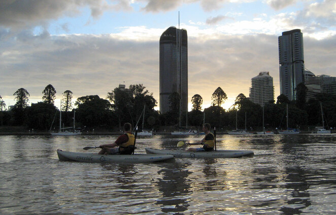 If you haven't done it already, kayaking Brisbane river should be on your list of Brisbane adventures to try