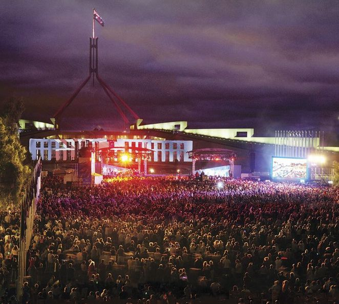 canberra, australian of the year awards, australia day concert, concert, parliament house, ACT, australia day 2015,