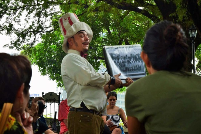 Carlos Celdran, Intramuros Tour, Manila Tours, Walk this way, San Augustin Church, Jose Rizal, General MacArthur