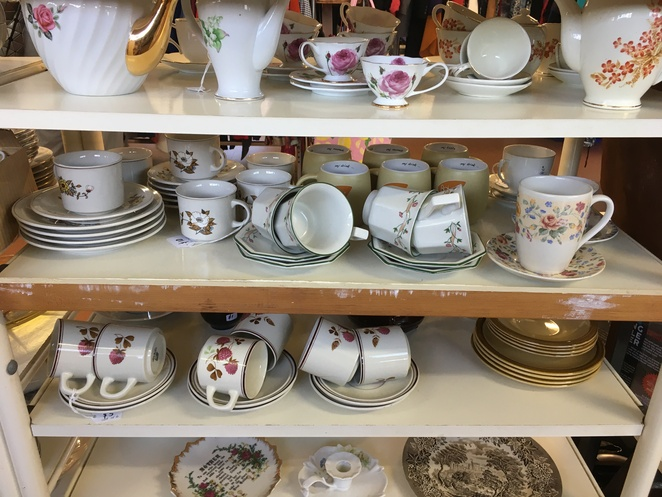 church thrift shop opshop charity secondhand disabled