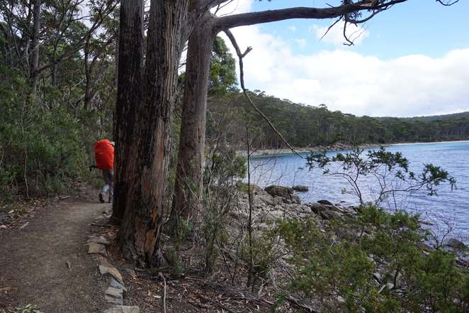 Coming into Fortescue Bay