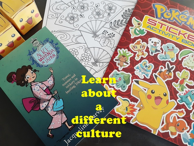 covid19, things to do, learn, kids, children, japan, different cultures, pokemon, books, traditions, cultures, languages, learn, australia,