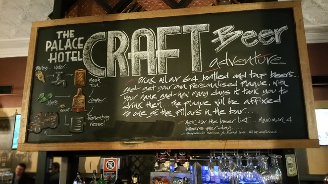 Chalk Board for Craft Beer