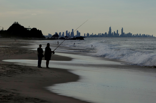 Currumbin Beach, Tugun Beach, Flat Rock, walk, Southern Gold Coast
