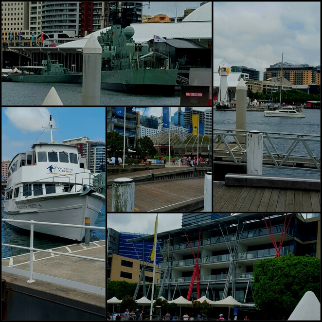 Darling Harbour, cruise, King Street Wharf, lunch, water views