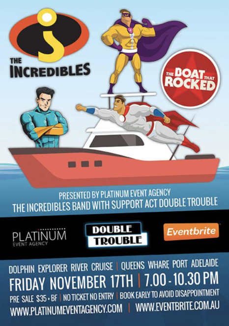 Dolphin Explorer Party Cruise with the Incredibles Band
