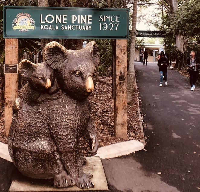 entrance to Lone Pine