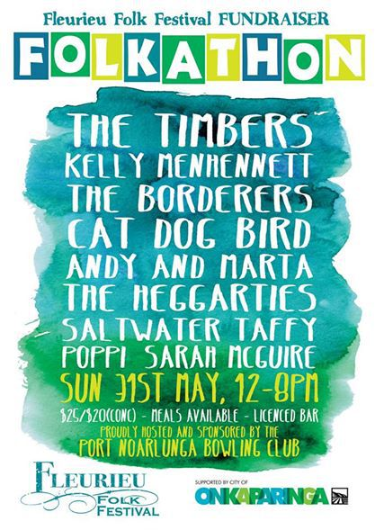 Folkathon Fund Raiser for the Fleurieu Folk Festival 2015