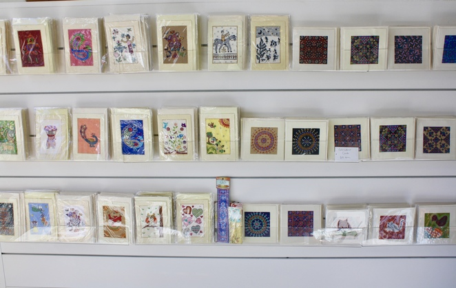 Fabric of Life have their own range of cards