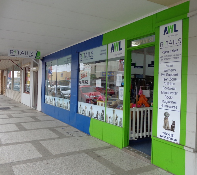 Gawler AWL animal welfare league pets op shop shopping
