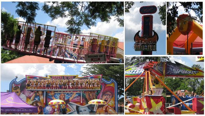 Glennie School Fair 2017 carnival rides