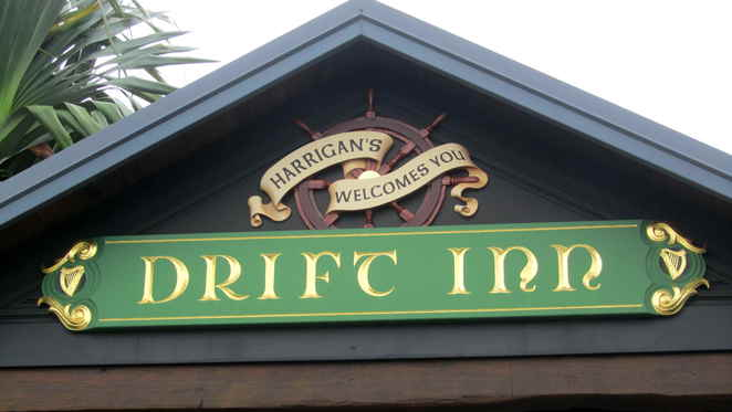 Harrigans Drift Inn, calypso bay, irish pub, jacobs well