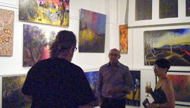 The Henderson Gallery also features a range of art works by different artists