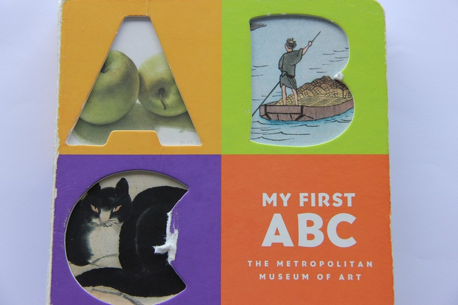 my first abc, the metropolitan museum of art, the met museum, books to read to your baby, books for babies and toddlers, good books for babies, best books for babies