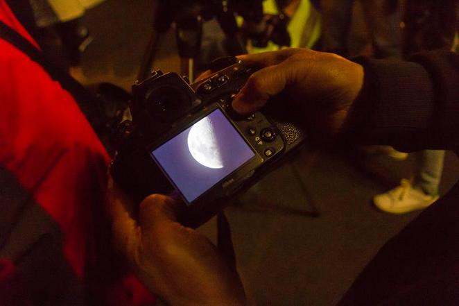 International Observe the Moon Night with Saxon