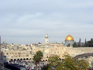 Jerusalem old city, dome of the rock