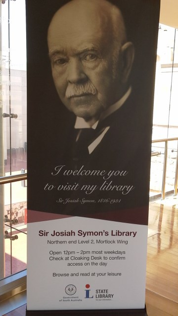 Josiah Symon Library, Mortlock Library, State Library of South Australia, Rose books,
