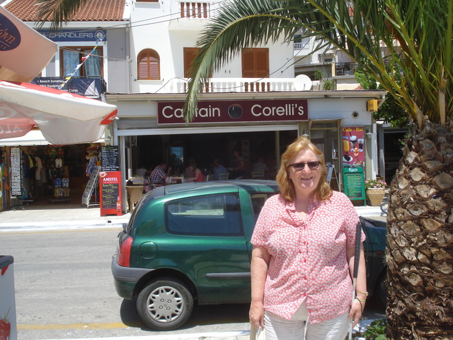 m outside captain corelli's
