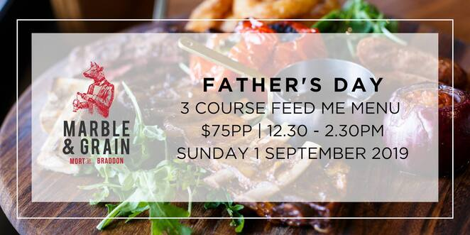 marble & grain, canberra, braddon, mort street, fathers day, lunch, adults only, no kids, ACT, events, lunch, steak,