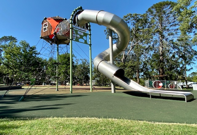Margaret Street Playground at Queens Park in Toowoomba