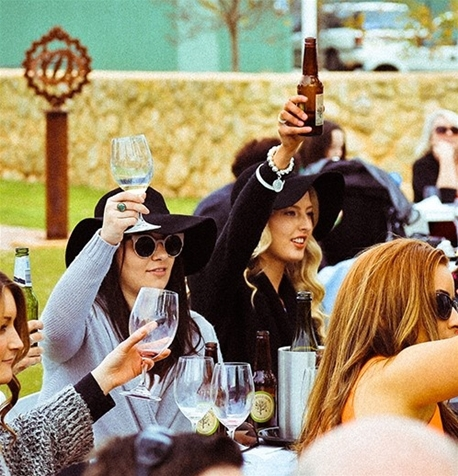 McLaren Vale, winery, Melbourne Cup, lunch, Africola