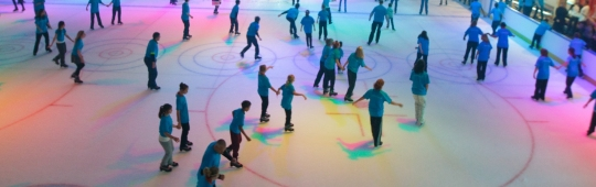 medibank icehouse, icehouse, docklands, ice skating