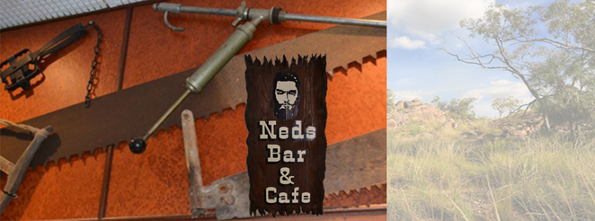 Ned Kelly Memorabilia, Bush Inn Hotel