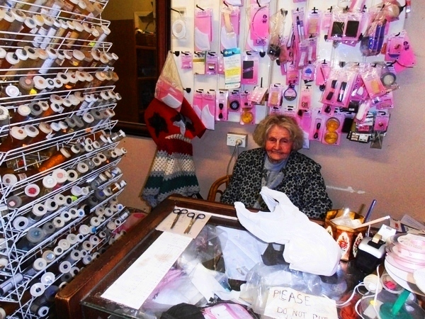 Fay Morley in her Manly shop.