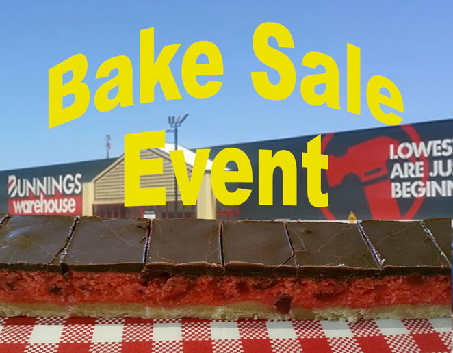 Perth Homeless Support Group Bake Sale Event at Bunnings Ellenbrook